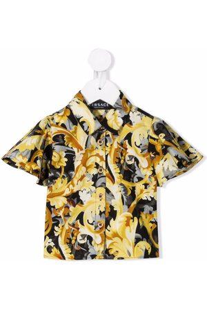 VERSACE Hemd mit Barockmuster