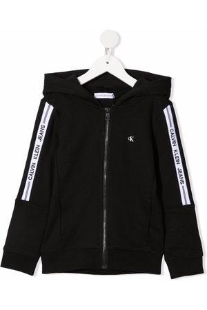 Calvin Klein Jungen Sweatjacken - Kapuzenjacke mit Logo-Print