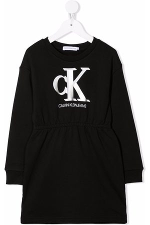 Calvin Klein Sweatshirtkleid mit Logo-Print