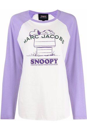 Marc Jacobs Baseball Peanuts print sweater - Nude