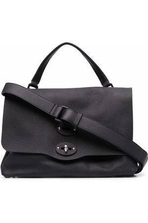 Zanellato Foldover leather tote bag