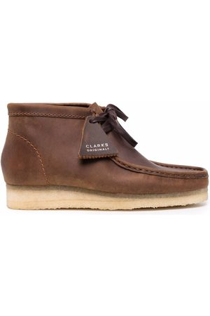 Clarks Lace-up leather desert boots