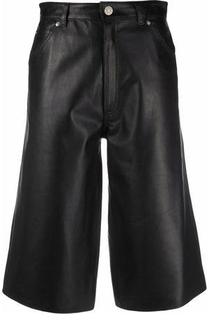 Manokhi Damen Weite Hosen - Culottes mit hohem Bund