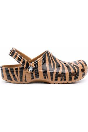 Crocs Damen BHs & Bustiers - Zebra-print slides