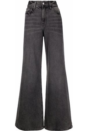 Frame Faded flared jeans