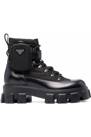 Prada Monolith combat boots
