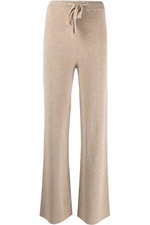 FEDERICA TOSI Drawstring-waist trousers - Nude