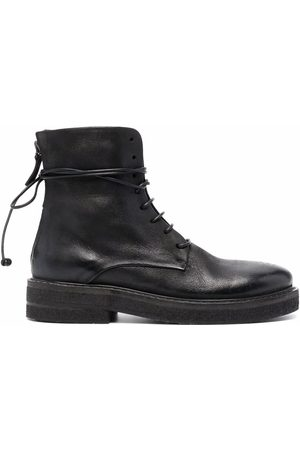 MARSÈLL Ankle tie-fastening boots