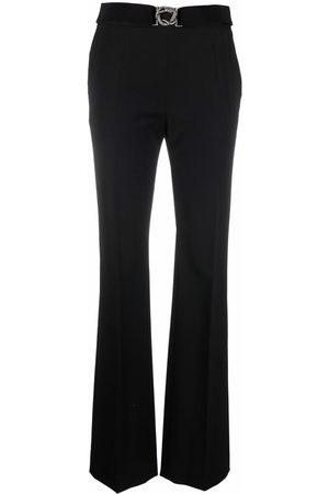 Roberto Cavalli Belted-waist trousers