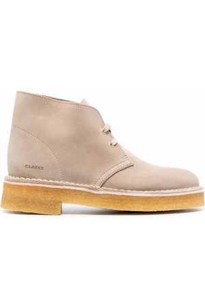 Clarks Lace-up ankle boots - Nude