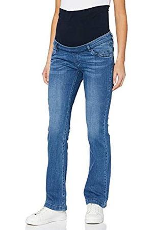 bellybutton Maternity Damen Jeans Bootcut mit Überbauchbund Umstandsjeans
