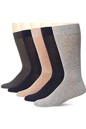 Amazon Herren Socken & Strümpfe - 5-Pack Solid Dress Socks Kleidersocke, 46-48.5