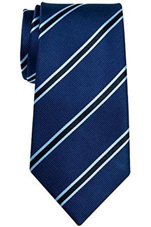 Retreez British Bar Herren Krawatte, gestreift, gewebte Mikrofaser