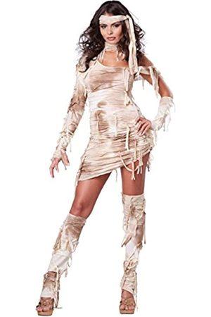 California Costumes Mystical Mummy Sexy Horror Kostüm für Damen - Beige - X-Small