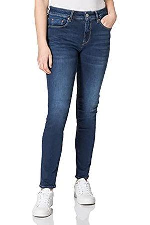 Herrlicher Damen Slim - Damen Super G Slim Reused Denim Jeans