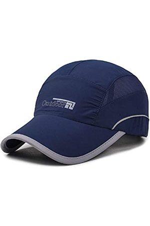 WeiMi Herren Sportausrüstung - Baseball Cap Quick Dry Cap Leichte Laufmützen Outdoor Luftig Verstellbar Sport Sonnenhut UV Schutz Hut für Männer Frauen - Grün - large