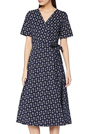 People Tree Damen Riya Motif Print Dress Lässiges Kleid