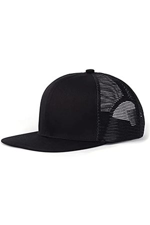 Zylioo XXL Oversize Snapback Trucker Hat Cap, Flatbill Baseball Mesh Hut für große Köpfe
