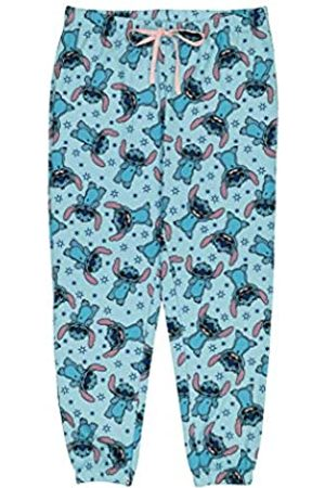 Disney Damen Stitch Lounge Pant Pyjamaunterteil