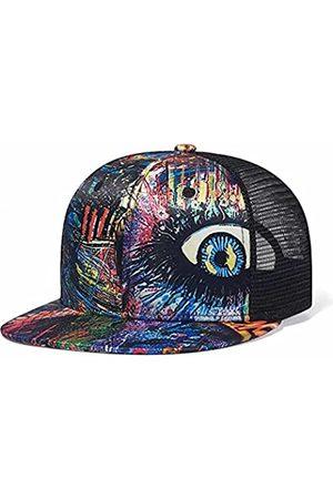 Quanhaigou Herren Caps - Trucker-Mütze, Outdoor-Mütze, Snapback-Cap, Hip-Hop, für Herren und Damen