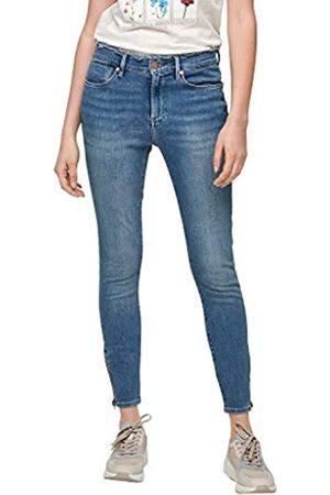 s.Oliver Damen Skinny Fit: Skinny ankle leg-Jeans 40