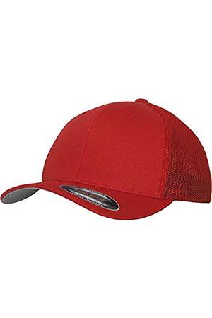 Flexfit Herren Caps - Mesh Trucker Kappe, (Red)