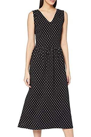 People Tree Damen Robyn Ikat Print Dress Lssiges Kleid