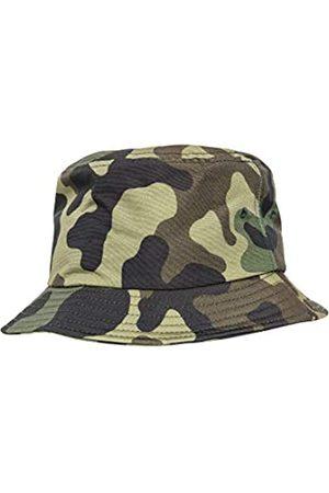 Flexfit Uni Damen/Herren Bucket Hat Unisex Camouflage Angler-Hut für Erwachsene