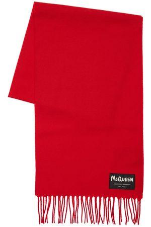 Alexander McQueen Schal Aus Wolle Mit Graffiti-logo