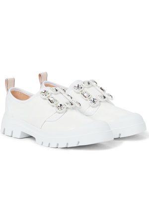 Roger Vivier Sneakers Walky Viv' Strass aus Leder