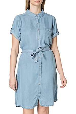 Blue Seven Damen Hemdblusenkleid, 1/2 Arm Kleid