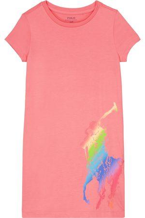 Ralph Lauren T-Shirt-Kleid aus Baumwolle