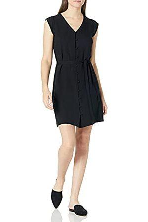 Goodthreads Fluid Twill Tulip Sleeve Tie-Waist Dress Kleid