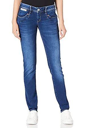 Herrlicher Damen Piper Slim Reused Denim Jeans