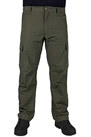 LA Police Gear Men's Urban Ops Tactical Cargo Pants - Elastic WB - YKK Zipper - - 48 x Unhemmed