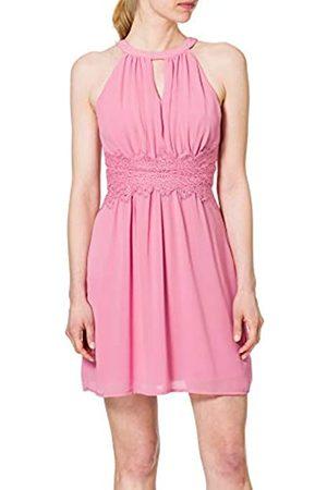 VILA Damen Freizeitkleider - Female Minikleid Neckholder 44Wild Rose