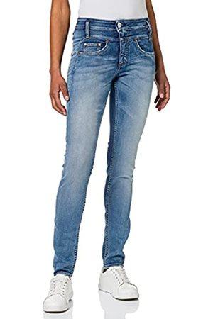 Herrlicher Damen Sharp Slim Organic Denim Jeans