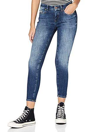 ONLY Female Skinny Fit Jeans ONLHush Life Mid Ankle M34Dark Blue Denim