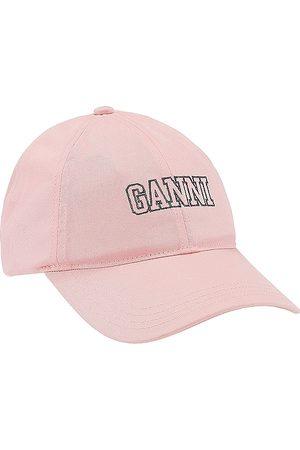 Ganni Damen Caps - Cotton Baseball Cap in .