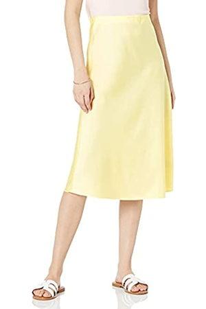 THE DROP Damen Maya Rock, seidiger Slip-Skirt-Stil