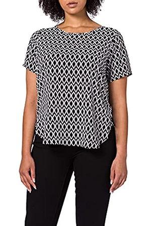 Carmakoma Damen CARVICA SS AOP TOP NOOS T-Shirt