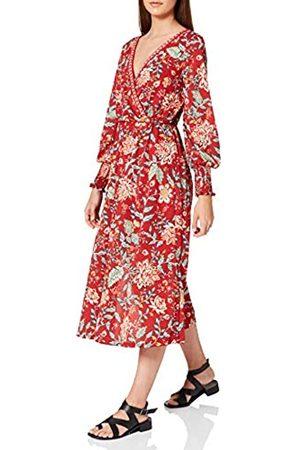 Springfield Damen Vestido Midi Estampado Kleid