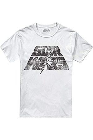 STAR WARS Herren Shirts - Herren Retro Logo T-Shirt