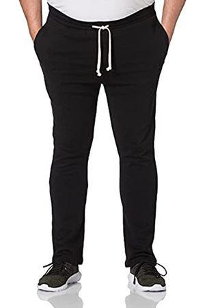 Urban classics Herren Jogginghosen - Herren Organic Low Crotch Sweatpants Trainingshose, Black