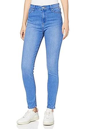 MERAKI Amazon-Marke: Damen Skinny Jeans mit hohem Bund, 37W / 32L