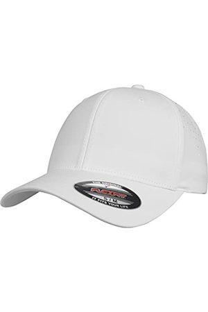 Flexfit Unisex Perforated Cap, White