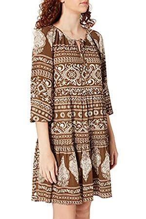 Springfield Damen Freizeitkleider - Damen Vestido Corto Tunica Kleid