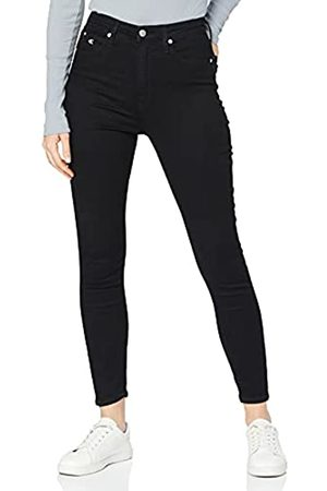 Calvin Klein Damen High Waisted - Damen HIGH Rise SUPER Skinny Ankle Jeans
