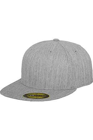 Flexfit Erwachsene Mütze Premium 210 Fitted, (heather)