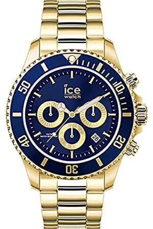 Ice-Watch Uhren - ICE steel blue Chrono - Herren/Unisexuhr mit Metallarmband - Chrono - 017674 (Medium)